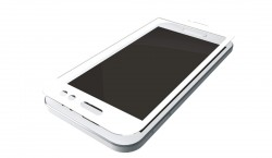 3mk Hardglass Max pro iPhone 7 bílý