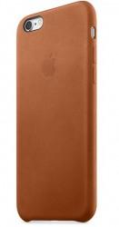 Kožené pouzdro Apple pro iPhone 6s světle hnědé