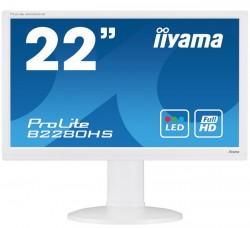 22'' iiyama ProLite B2280HS bílý LED