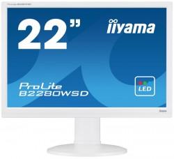 22'' iiyama ProLite B2280WSD-W1 LED bílý