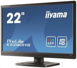 22'' iiyama ProLite E2280HS černý