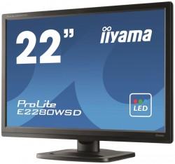 22'' iiyama ProLite E2280WSD-B1 černý