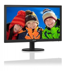 23.6'' Philips 243V5LSB5 LED DVI černý