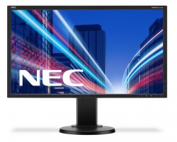 22'' NEC MultiSync E223W černý