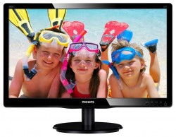 Monitor Philips 200V4LAB2/00, 19.5inch, 1600x900, D-Sub, DVI