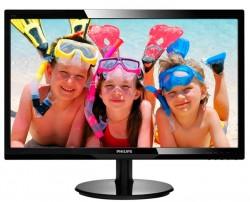 Philips LED 24'', 246V5LSB/00; FullHD, DVI, černý