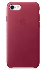 Apple iPhone 7 Leather Case malinový [MPVG2ZM/A]