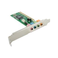 4World zvuková karta PCI 4 kanály CMI8738