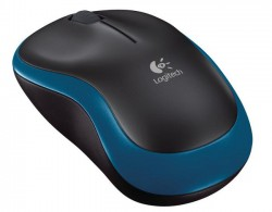 Logitech Wireless Mouse M185 Blue