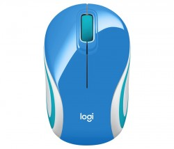 Logitech Wireless Mouse M187 Blue