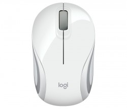 Logitech Wireless Mouse M187 White