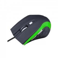 MODECOM optická myš MC-M5 černo-zelená