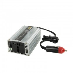 Whitenergy měnič napětí do auta DC 12V-AC 230V 200W s USB