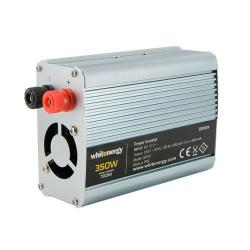 Whitenergy měnič napětí do auta DC 12V-AC 230V 350W s USB