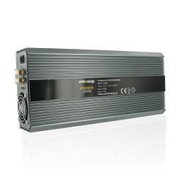 Whitenergy měnič napětí do auta DC 12V-AC 230V 2000W s 2 zásuvkami