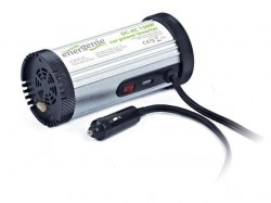 Měnič napětí 12V->230V Energenie by Gembird 150W + USB