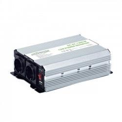 Měnič napětí 12V->230V Energenie by Gembird 1200W + USB