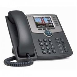 Cisco 5-Linka IP telefon s barevným displejem, PoE, 802.11g, Bluetooth - SPA525G2