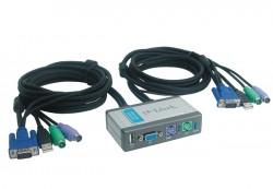 KVM přepínač D-Link + USB DKVM-2KU