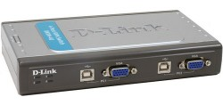 KVM přepínač D-Link z USB - DKVM-4U