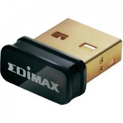 Edimax Wireless nano USB 2.0 adapter, 802.11n 150Mbps, SW WPS, EW-7811Un