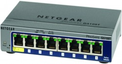 Netgear Prosafe 8-port Gigabit Smart Switch - GS108T-200GES