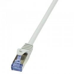 LogiLink Kabel kat.6A S/FTP PIMF 20m šedý