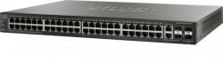 Cisco Switch 48x10/100/1000 Mbit/s, 4xGE/2xminiGBIC - SG500-52-K9-G5
