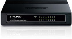 Switch TP-Link 16-port 10/100Mb/s TL-SF1016D