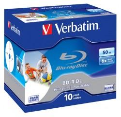 BD-R Verbatim 50GB Printable 10ks