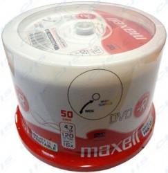 DVD-R Maxell Printable 4.7GB 16x k potisku cake 50