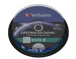 DVD-R Verbatim M-DISC Print 10ks