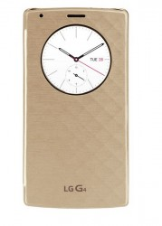 Pouzdro LG Quick Circle pro G4 zlaté