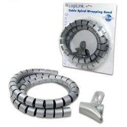 LogiLink KAB0014 spirálový stříbrný