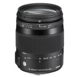 Objektiv Sigma C 18-200mm F/3.5-6.3 DC MACRO OS HSM Canon [OSDC18-200/3.5-6.3 C DC MACRO OS HSM]