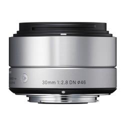 Objektiv Sigma A 30mm F2.8 DN micro 4/3 stříbrný [OSDMFT30/2.8 A DN Silver]