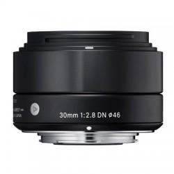 Objektiv Sigma A 30mm F2.8 DN micro 4/3 černý [OSDMFT30/2.8 A DN Black]