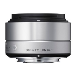 Objektiv Sigma A 30mm F2.8 DN Sony-E stříbrný [OSDSE30/2.8 A DN Silver]