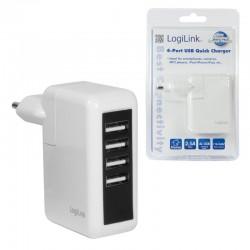 Nabíječka síťová 4x USB do 2.5A