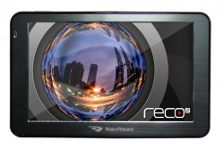 NavRoad RECO 2 + + AutoMapa Polska (na microSD 4GB) + Navigator Free Europa
