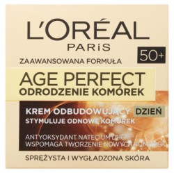 L'Oréal Paris Age Perfect Odrodzenie Komórek 50+ Krem odbudowujący na dzień 50 ml