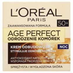 L'Oréal Paris Age Perfect Odrodzenie Komórek 50+ Krem odbudowujący na noc 50 ml