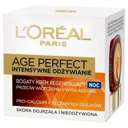 L'oreal Age Perfect 60+ intensywne odżywienie krem na noc 50 ml