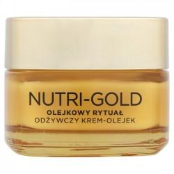 L'oreal Nutri Gold olejkowy rytuał krem-olejek odżywczy do skóry suchej 50ml