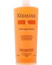 Kerastase Nutritive Bain Oleo-Relax Kąpiel Wygładzająca do Włosów Nieposłusznych Kręconych 1000 ml