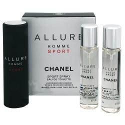 Chanel Allure Homme Sport 3x20 ml s výměnnou náplní