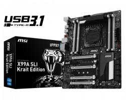 MSI X99A SLI Krait Edition USB 3.1