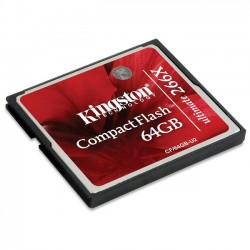 Kingston 64GB CompactFlash Ultimate CF/64GB-U2
