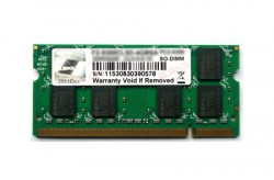 G.SKILL SO-DIMM DDR2 2GB 800MHz CL5 [F2-6400CL5S-2GBSQ]