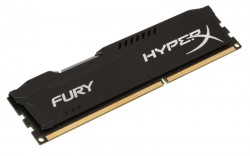 HyperX 4GB (DDR4 2400MHz Cl15 Fury Black) [HX424C15FB/4]